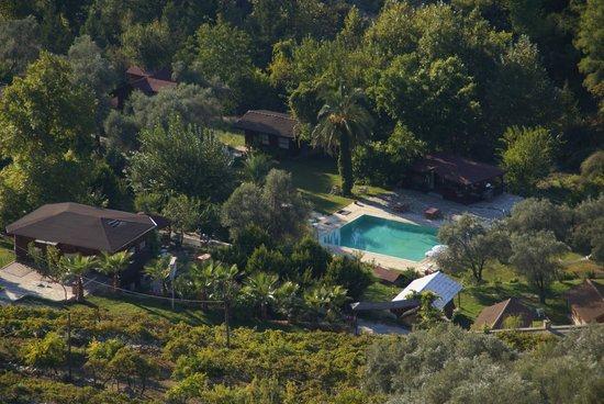 Hidden Garden : pearl of relaxation in the green hills around Akbel/Kalkan