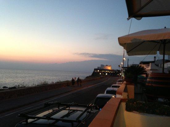 Albergo Santa Lucia: La vista panoramica dalla terrazza del Santa Lucia