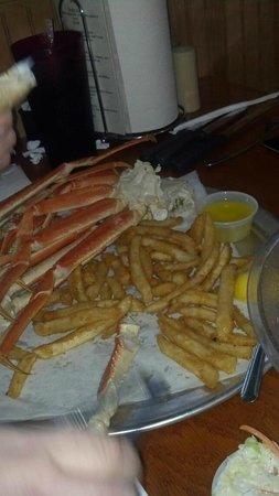 Charlie Horse Restaurant : Crab Legs
