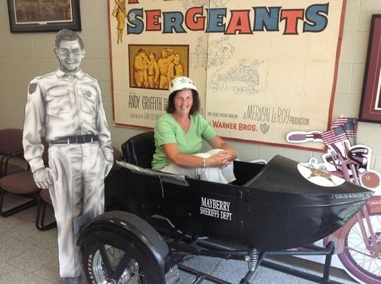 The Andy Griffith Museum: Waiting for BARNEY