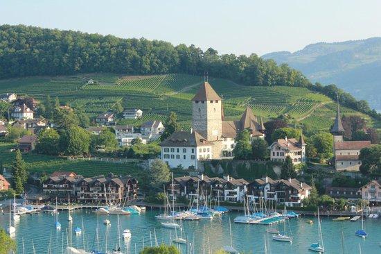 Belvedere Strandhotel & Restaurant: Chambre avec vue sur le lac