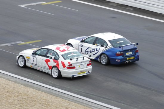 Dorint am Nürburgring Hocheifel: Vue plongeante sur la piste depuis le balcon