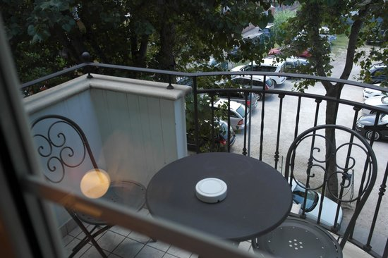 Hotel Accademia : Balcony