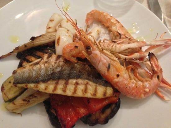 Lobster Russian Corner : grigliata mista di pesce