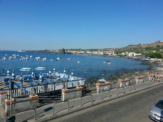 Grand Hotel Faraglioni: vista dalla terrazza