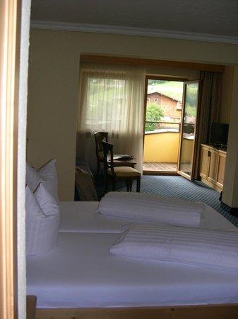 Hotel Alphof Soelden : Vue de la chambre