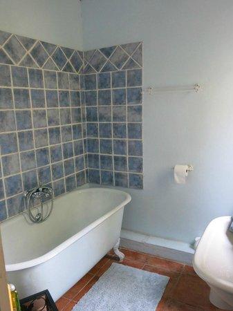 Mas Du Petit Grava : Bathroom in the Blue Room