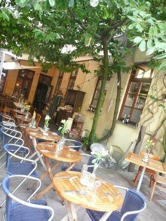 Miera: back terrace