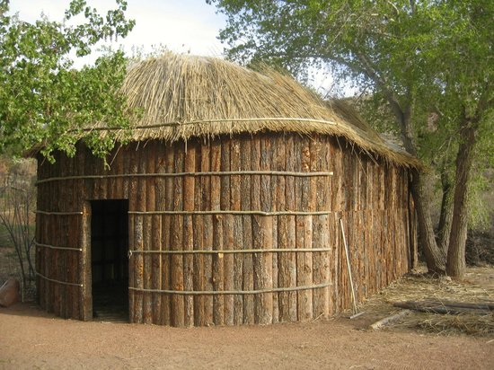 Ivins, UT: Iroquois Longhouse at the Village