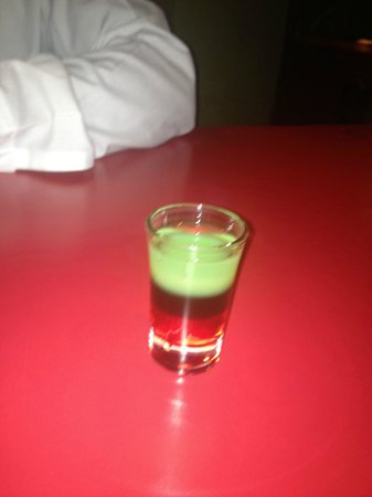 The Wexford Hotel: The Bob Marley Shot.. everyone should do one.