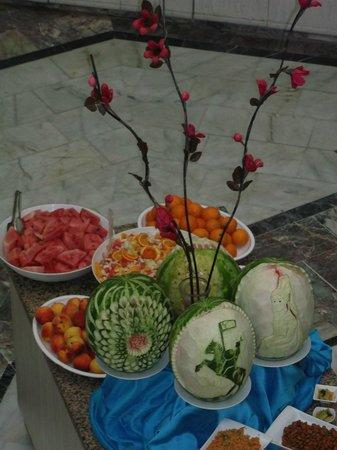 Luana Hotels Santa Maria: buffet