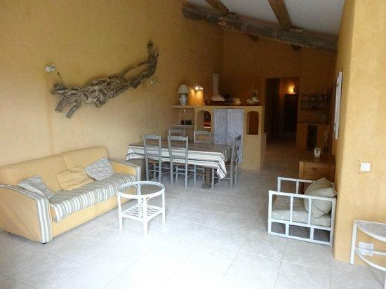 Le Grand Sonnaillet : Salon/ salle à manger