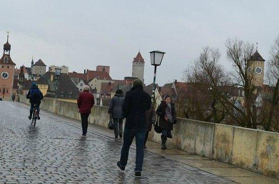 Sorat Insel-Hotel Regensburg: по мосту