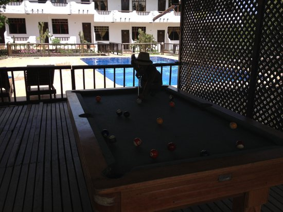Hotel Fiesta: mesa de pool