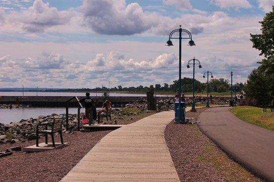 Lakewalk: Double walkways; double the fun