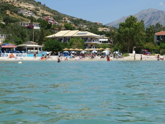 Maistrali Apartments - view from the sea