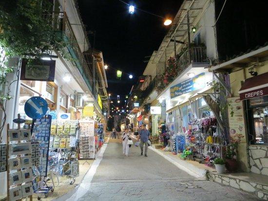 Maistrali: Port Vassiliki - by night