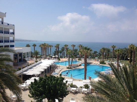 Ascos Coral Beach Hotel: Our view!!