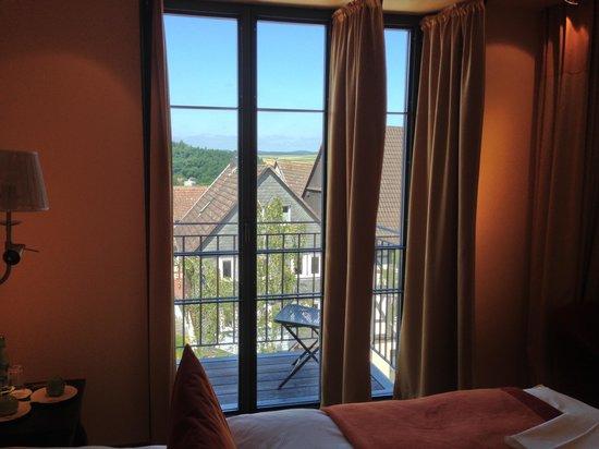 Hotel Die Sonne Frankenberg: View from Room 322