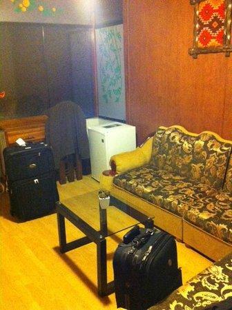 Hospedaje Tinkus: living room