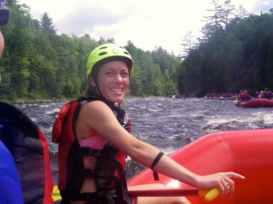 North Creek Rafting Company Day Trips: Rebecca connects