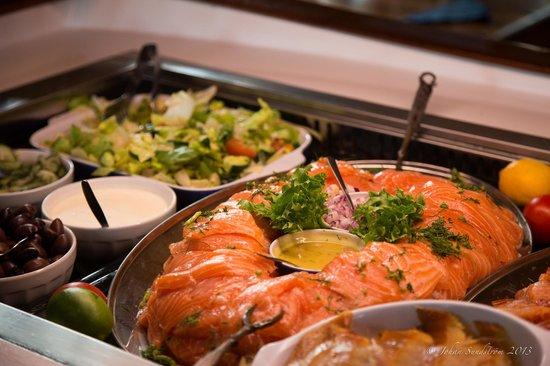 Pa Kroken: Lunchbufen är fräsch