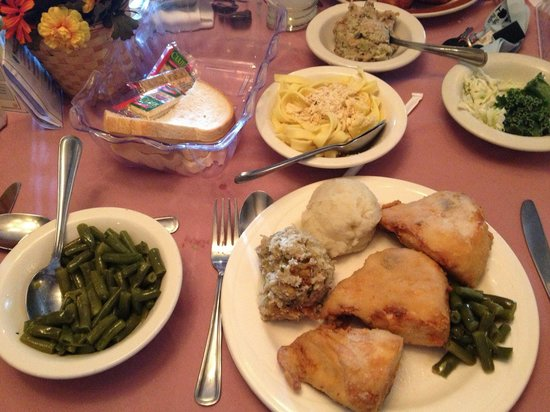 Bavarian Inn Restaurant : all for one and one for all!