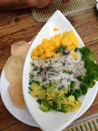The Park Restaurant and Bar: Ceviche Oriental - best ceviche!