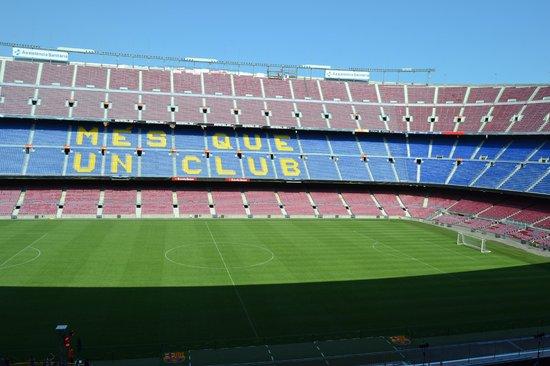 Fcbotiga megastore bild von camp nou barcelona for Mobilya megastore last minute