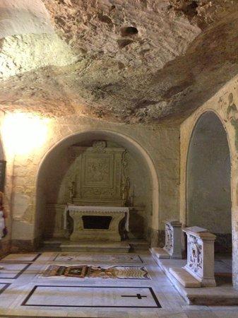 Krypta, Katakomben und Museum St. Agatha: Crypte