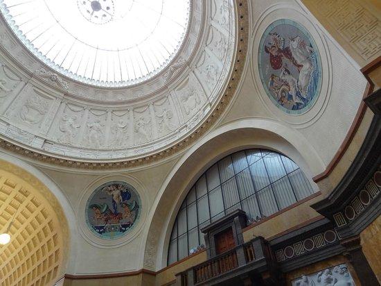 Kurhaus: stunning ceiling