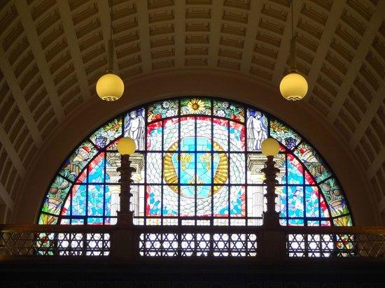 Kurhaus: beautiful window detail