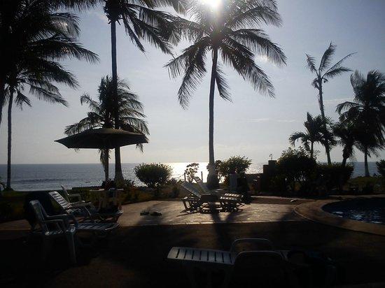 Hotel Iguanazul: Vista desde el Restaurant