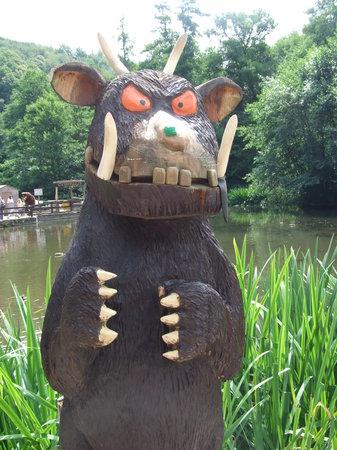 Dean Heritage Centre: Gruffalo sculpture