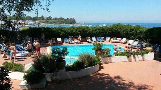 Grand Hotel Ischia Lido: piscina piccola ma efficace
