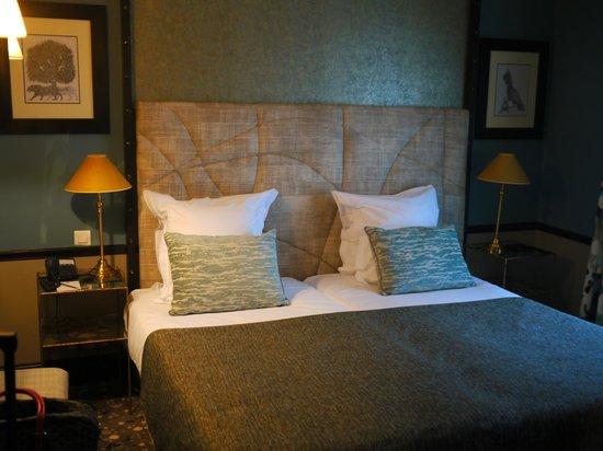 Hotel Therese: Sleep inducing bed...