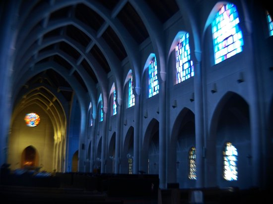 Monastery of the Holy Spirit: Chuch Interior