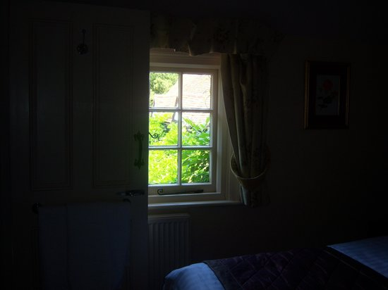 The Bull Inn: View from the bedroom.