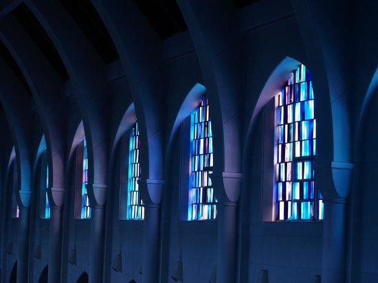 Monastery of the Holy Spirit: Beautiful Windows