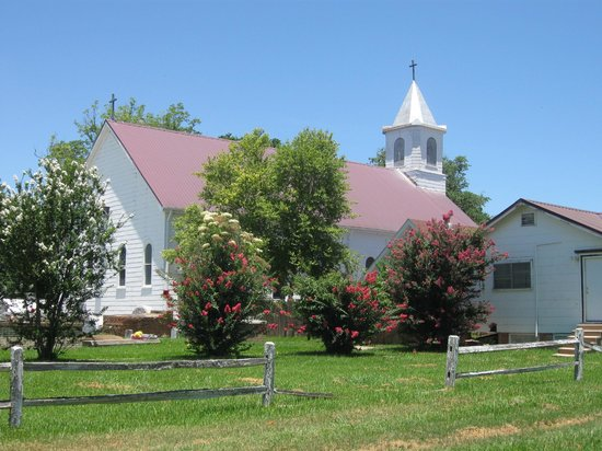 Cane River Creole National Historical Park: Beautiful church