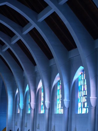 Monastery of the Holy Spirit: More church windows