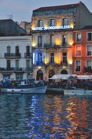 Hotel L'Orque Bleue: Twilight