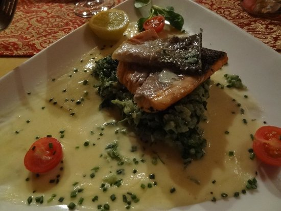 Boheme : overpriced fish dish