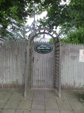 Secret Garden Inn: The Secret Garden entrance