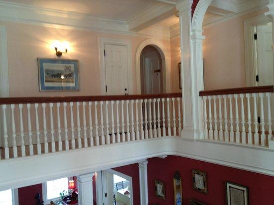 Rosemont Manor: Doorway to Nixon Suite