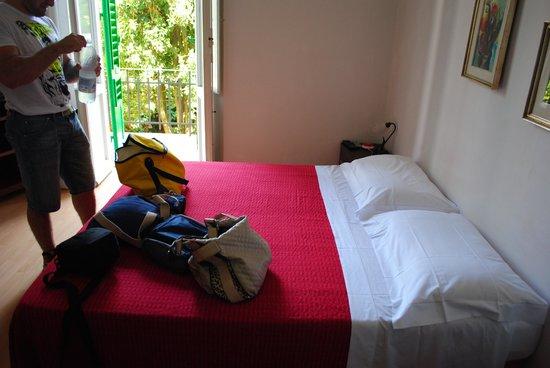 B & B Ammirato: letto e balcone