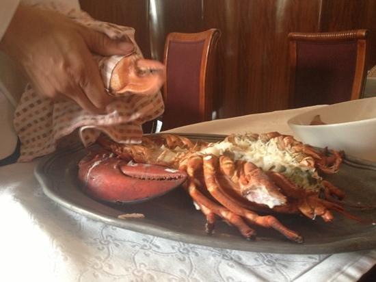Grill 225: My big 3lb lobster!!