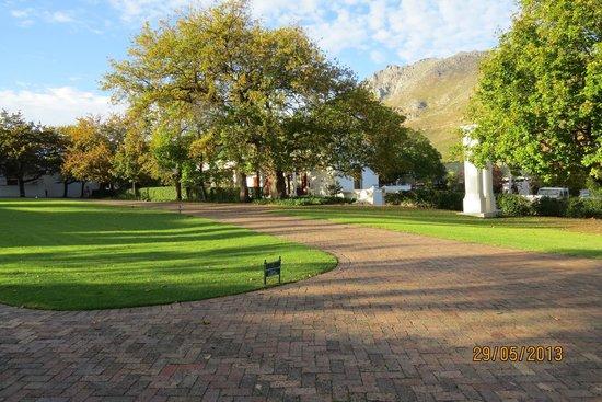 Lanzerac Hotel & Spa: Lanzerace Gardens