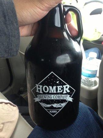 Homer Brewing Company: growler