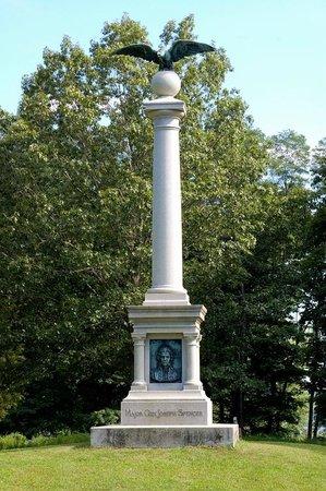 East Haddam, CT: Major General Joseph Spencer Memorial